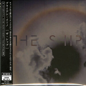 BRIAN ENO-THE SHIP-JAPAN CD BONUS TRACK E78