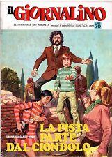 IL GIORNALINO n.29/1970 commissario spada giusva fioravanti mary bird i nomadi