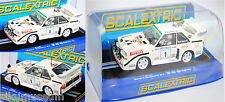 SCALEXTRIC C3487 Audi Sport Quattro S1 E2 Gruppe B Rallye UlsterMouton Pons 1:32