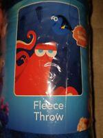 """Disney pixar finding dory fleece throw blanket 45""""x60"""""""