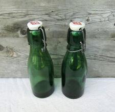 2 anciennes bouteilles BULACH Vintage lideal solidex