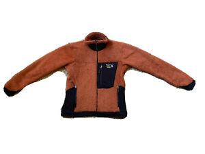 Mountain Hardwear Men's M Monkey Jacket Fleece Full Zip Orange