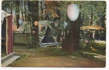 1910 Postcard showing Camping scene at Scott's Camp on the Russian River CA