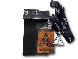 Harry Potter The Deathly Hallows Lanyard and Keyring Set