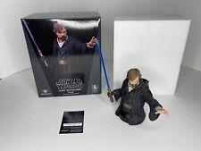 Star Wars Luke Skywalker Crait Mini Bust Gentle Giant 0731/1500 COA