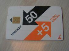 télécarte   50+5       50 u   (10)