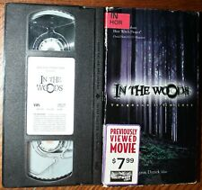 IN THE WOODS (vhs) D.J. Perry, Aimee Tenaglia. Good Cond. RARE Horror Dead Alive