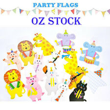2.2M Party Bunting Banner Flags Party Garland Decoration Animal Baby Shower