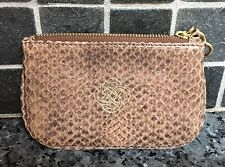 Stella And Dot Coin ID Purse Light Brown Snake Skin NEW **1 DAY SALE**