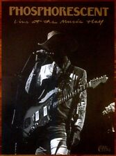PHOSPHORESCENT Live At The Music Hall 2015 Ltd Ed RARE Poster +FREE Indie Poster