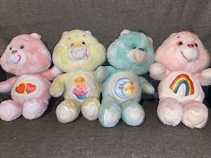 "Kenner Vintage Care Bears  1983  7"" Plush Lot Of 4"