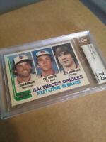 Cal Ripken JR BECKETT 7.5+NM 1982 Rookie Topps Future Stars Baltimore Orioles