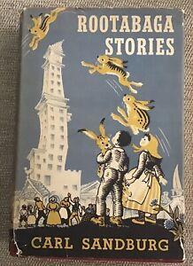 ROOTABAGA STORIES by Carl Sandburg, Maud Petersham, Miska Petersham 1951 Edition