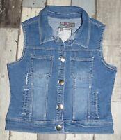 🌺 14 ans ORCHESTRA - DDA38  /  Veste en jean bleu sans manche Fille com9 🌺