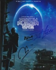 """READY PLAYER ONE (3 CAST SIGNED)  AUTOGRAPH SIGNED 10"""" X8"""" PHOTO  COA 55"""