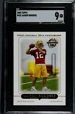 2005 Topps Football Aaron Rodgers ROOKIE RC #431 SGC 9 MT (Comp. PSA)