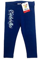 NWT Disney Cinderella Dark Blue Navy Sparkle Leggings Pants Toddler 2T