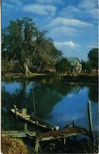 Along the Bayou (Louisiana) 1963 - Color photo by Joseph Muench