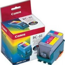 Genuine Canon BC-61 color ink cartridge suits BJC-7000 series machine new sealed