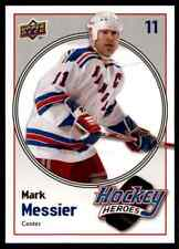 2009-10 Upper Deck Hockey Heroes Mark Messier Mark Messier #HH24