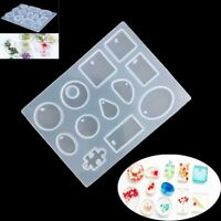DIY Tool Jewelry Necklace Craft Silicone Resin Mold Making Mould Pendant Crystal