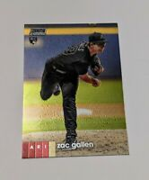 2020 Topps Stadium Club Zac Gallen Chrome Single Insert Rookie Card #262