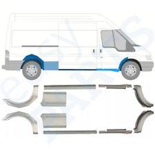 Ford Transit 2000-2013 Lang 10x Reparaturblech Schweller / Satz