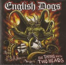 English Dogs - The Thing With Two Heads ( CD ) NEW / SEALED