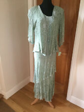 BEautiful NEW Mint Green Lace Designer Outfit Size 10