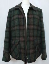 Boden British Tweed by Moon Women's Jacket Size UK 18 Multicolour Check Wool