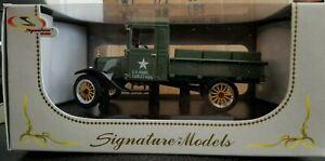 NEW Diecast 1923  FORD MODEL TT US ARMY