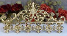 Wandgarderobe Eisen Wandhaken Kleiderhaken Garderobe Garderobenhaken Antik gold