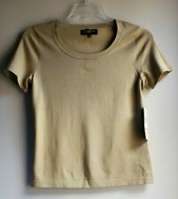 Jones New York Collection Women Top Silk Blend Color Ginger (Beige) Size S - NWT