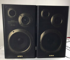 aiwa sx-350 - Classic AIWA Stereo 2-Way Bass Reflex Speakers