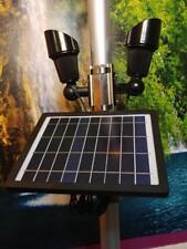 Solar Flagpole Light - Dual head FP - wireless remote POWERFUL