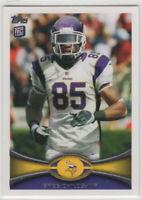 2012 Topps Football Minnesota Vikings Team Set