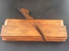 c19th Antique Vintage KING & COMPE HULL Wooden Wood Plane Tool Stamped JA