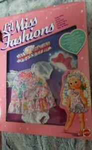 Lil Miss Fashions 80er Ovp Mattel