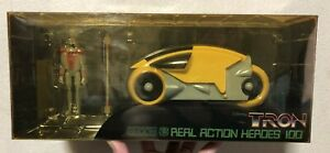 TRON LIGHT CYCLE SOLDIER YELLOW SERIES C MEDICOM TOY FIGURE