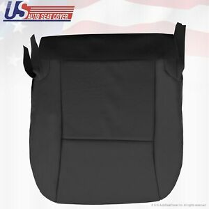 Fits 2010 Lexus RX350 RX450 Driver Side Bottom Perf Leather Seat Cover- Black