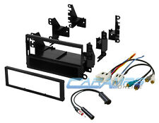 COMPLETE NEW CAR STEREO CD PLAYER DASH INSTALLATION KIT W/ WIRING HARNESS