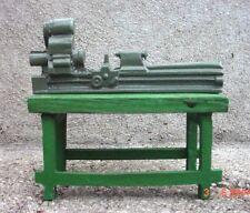 Lathe Diecast Bench Model 1/24 Scale G Scale Diorama Accessory Item