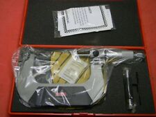 SPI 75 - 100mm  0.01mm Digit Outside Micrometer Chrome Plated #14-260-4