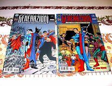 SUPERMAN & BATMAN GENERAZIONI I (John Byrne) - TP 1 e 2 - PLAY PRESS 1999