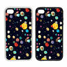 Vector Planet Pattern -Rubber and Plastic Phone Cover Case- Abstract Design