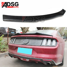 For Ford Mustang Coupe 2-Door Carbon Fiber Rear Boot Spoiler A 2015 - 2017 AU