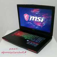 "**READ DESC** MSI GT72VR Gaming Laptop - GTX 1070, 32GB RAM, 256GB SSD+1TB,17.3"""