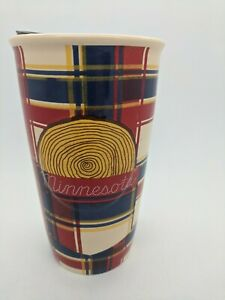 Minnesota Starbucks Ceramic Tumbler Mug Collectors Local Edition Travel 2016 New