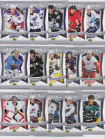 2007-08 Upper Deck MVP Rookie RC Lot 15 Different Cards Foligno Staal NHL Hockey