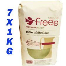 Doves Farm sans gluten Plain farine blanche (2X1KG)